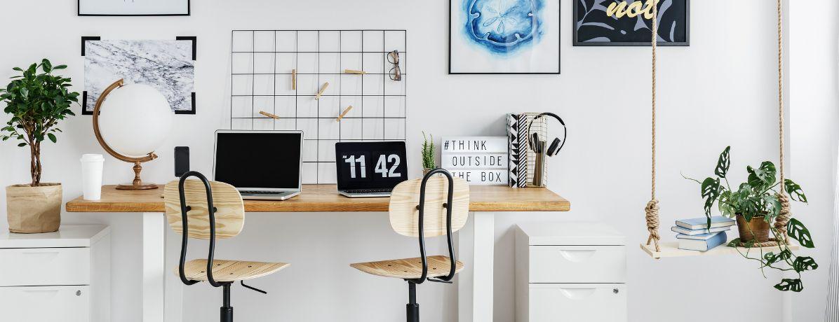 DIY para escritório: como deixar seu ambiente de trabalho mais charmoso?