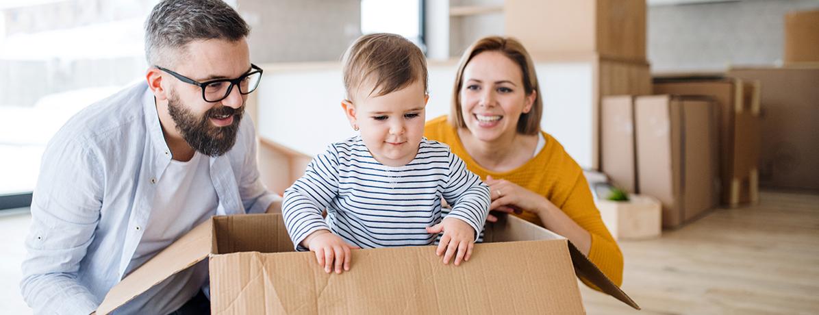 A família aumentou e você precisa de um novo imóvel? Saiba se organizar!