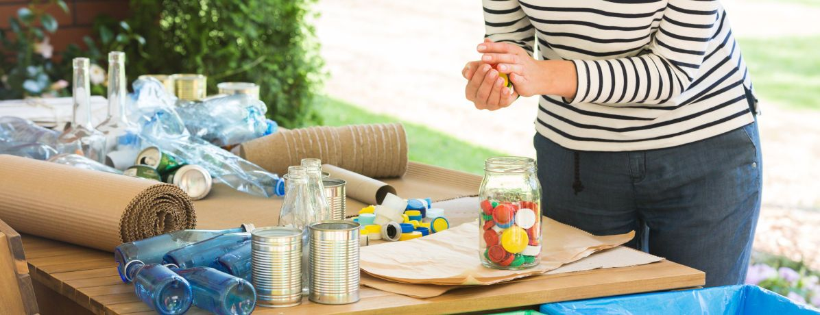 Como podemos reaproveitar o lixo doméstico?