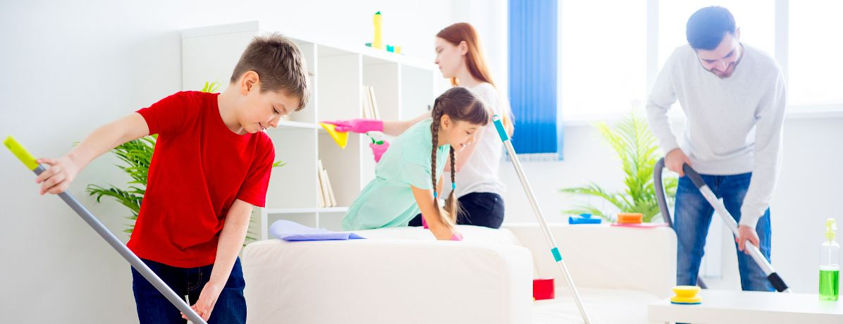 Como manter a casa organizada com as crianças?