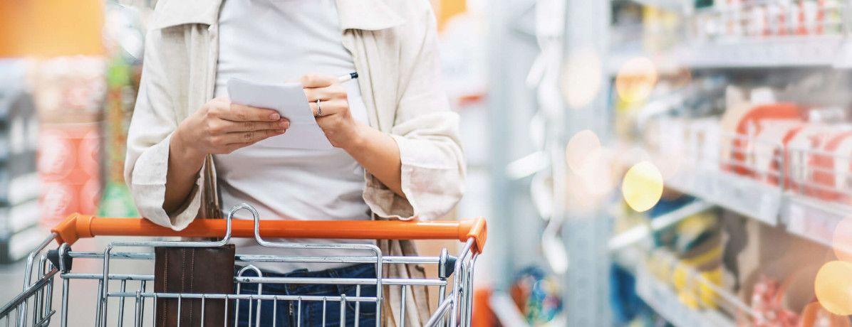 11 dicas para montar uma lista de supermercado econômica